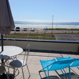 Balcon de 16 m² avec vue sur la baie de Douarnenez - Location de vacances - Plomodiern