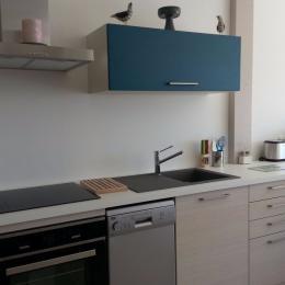 cuisine aménagée et tout équipée - Location de vacances - Plomodiern