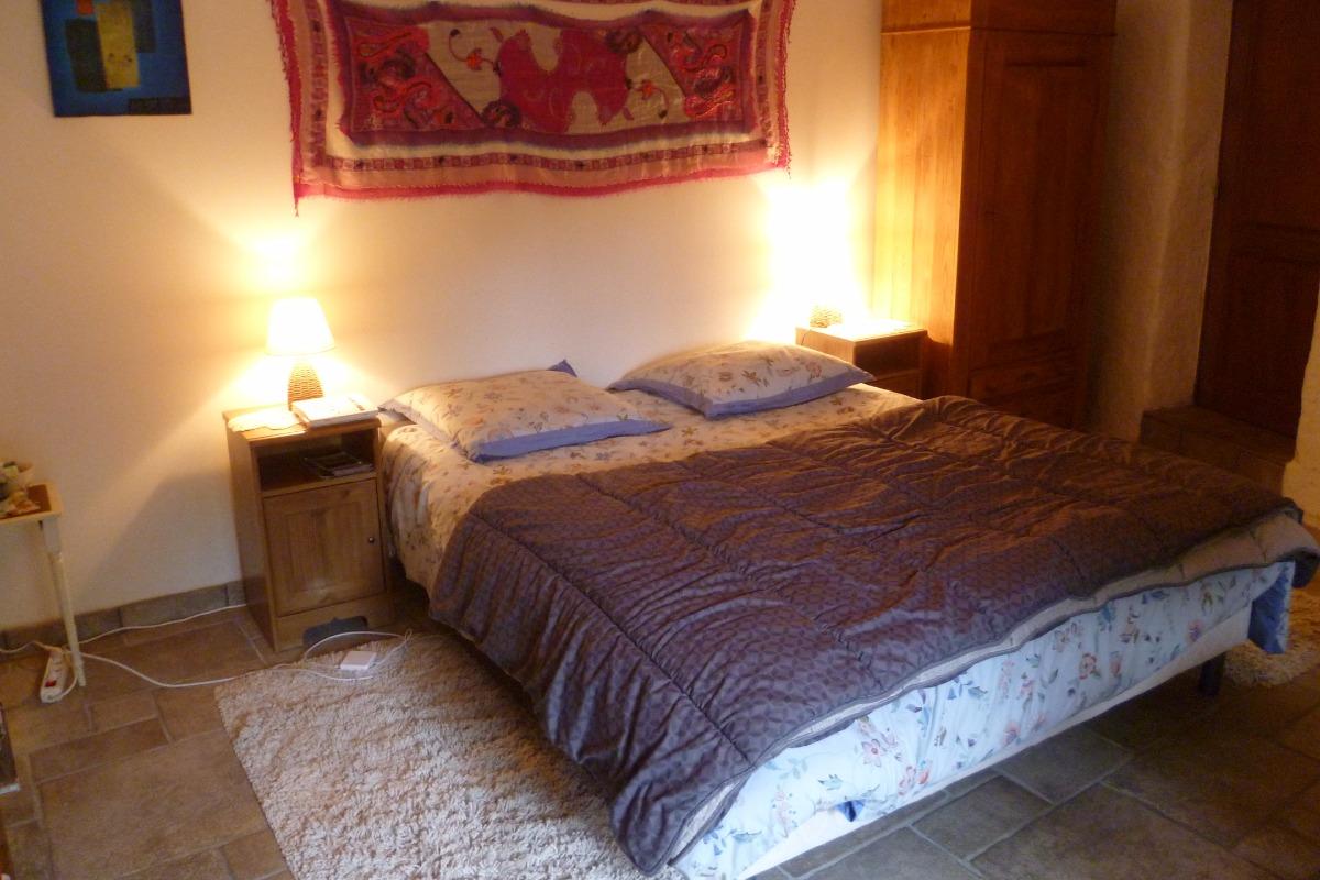 chambre le lutik - chambres d'hôtes de Brezehan dans les Monts d'Arrée - Chambre d'hôtes - Commana