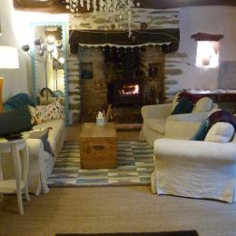 Salon Les Chambres d'Hôtes de Brezehant - Commana - Finistère - Monts d'Arrée - Chambre d'hôtes - Commana