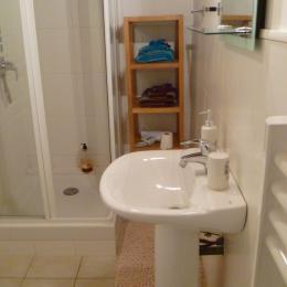 salle d'eau-wc communicants et privatifs - Chambre d'hôtes - Commana