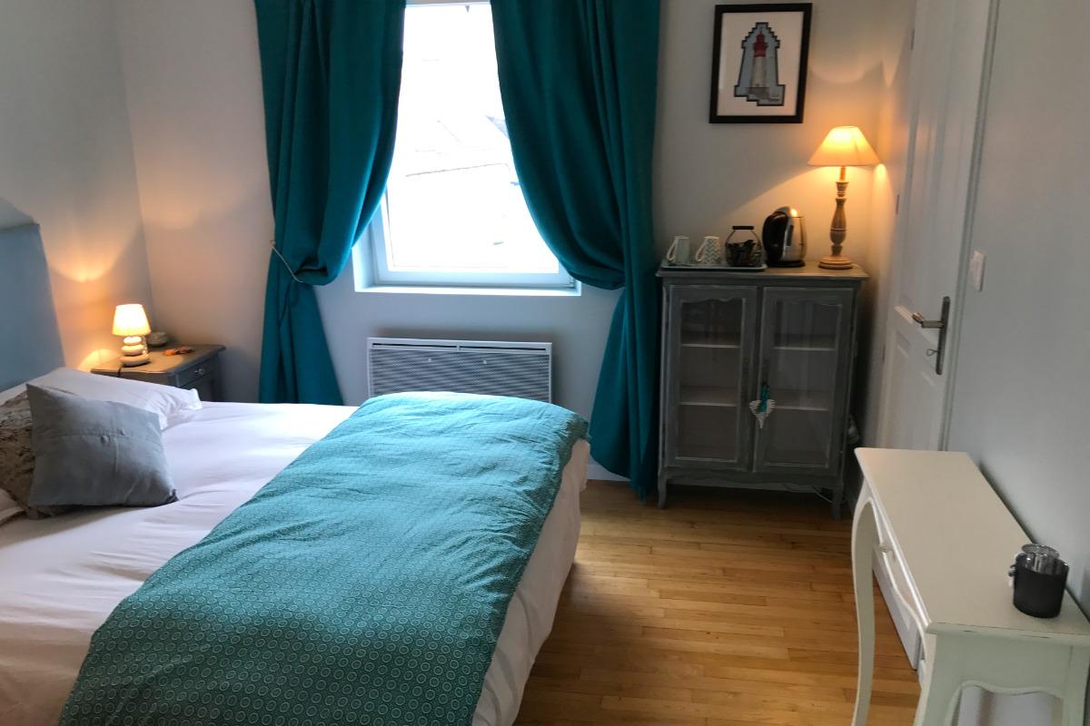Chambre bleue - Chambre d'hôtes - Concarneau