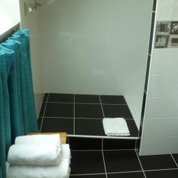 douche à l'italienne - Chambre d'hôtes - Concarneau
