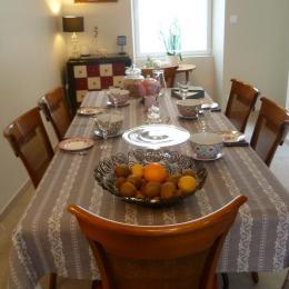 salle du petit déjeuner - Chambre d'hôtes - Concarneau
