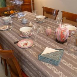 table du petit-déjeuner - Chambre d'hôtes - Concarneau