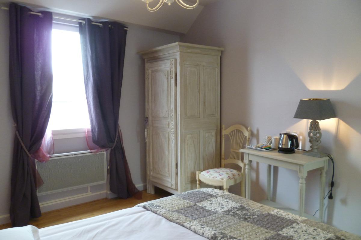 chambre mauve - Chambre d'hôtes - Concarneau