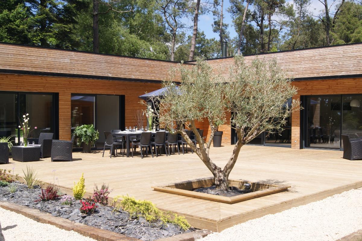 Villa avec sauna et piscine int rieure chauff e 15 mn du - Location bretagne piscine ...