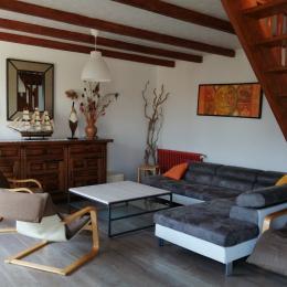 salon - séjour - Location de vacances - Plougasnou