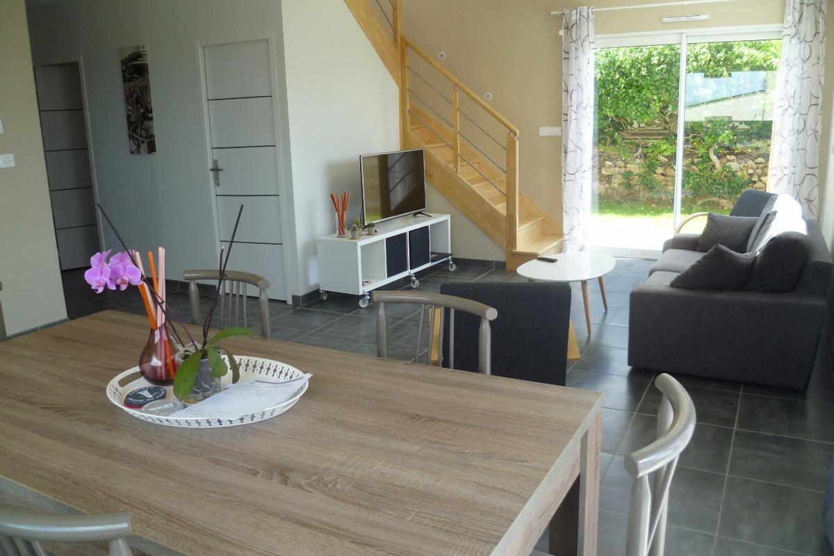salon -séjour - Location de vacances - Camaret-sur-Mer