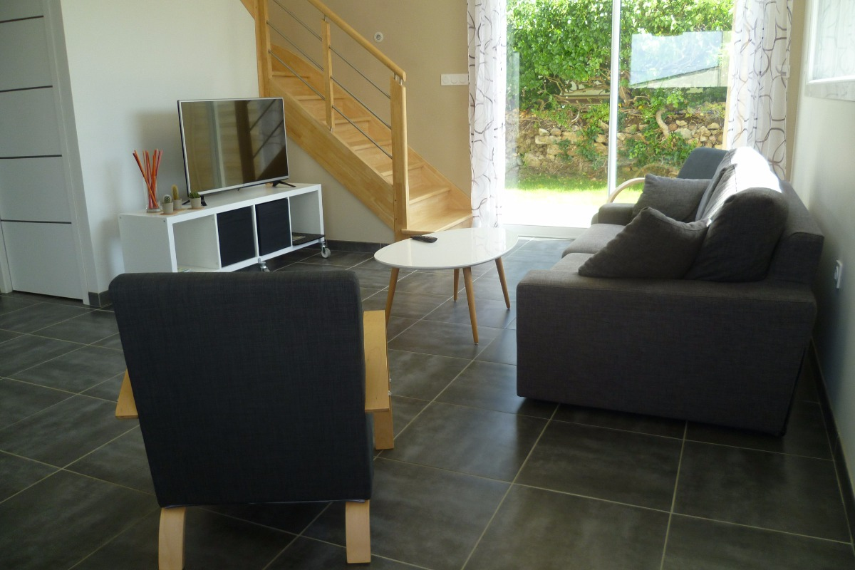 salon TV - Location de vacances - Camaret-sur-Mer