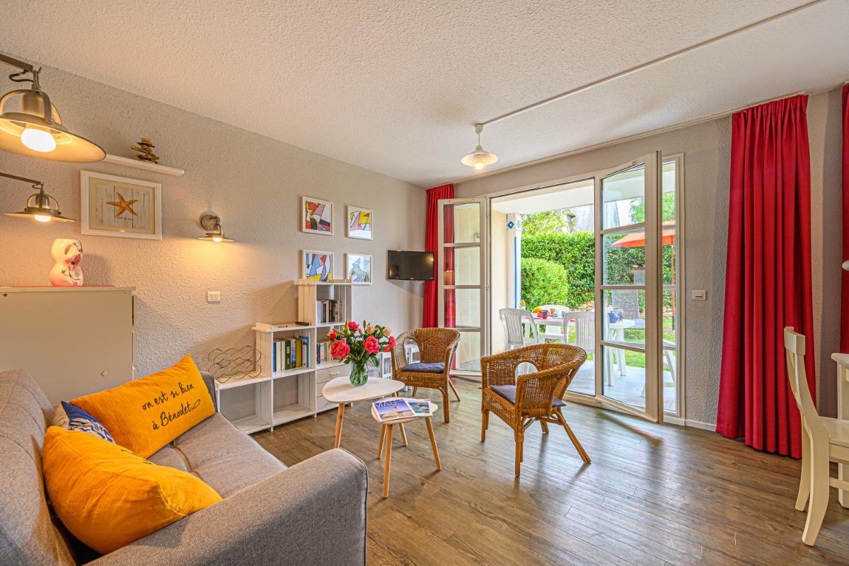 Terrasse vue de l'appartement - Location de vacances - Bénodet