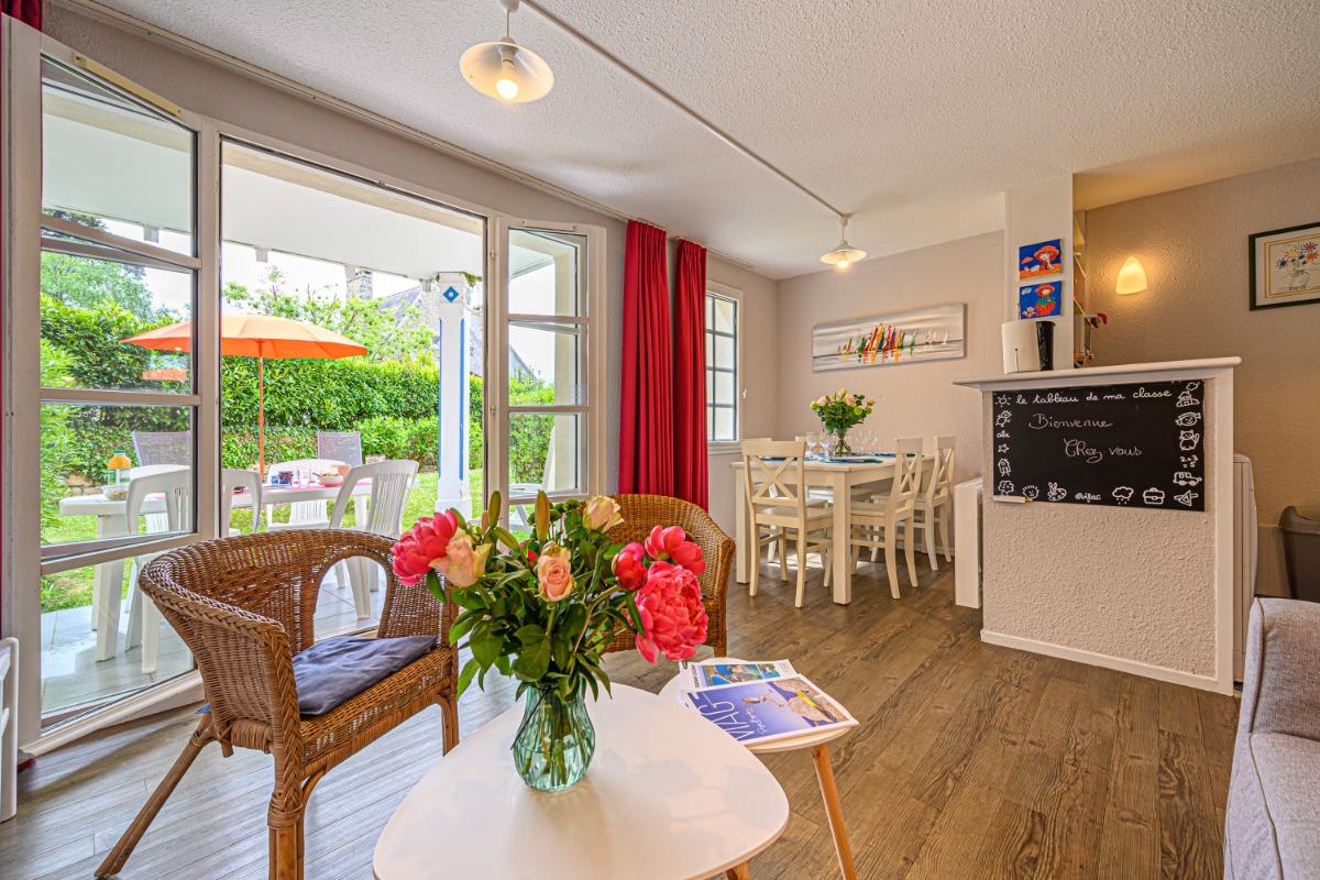 piscine commune à la résidence - Location de vacances - Bénodet