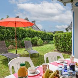 Terrasse et détente - Location de vacances - Bénodet