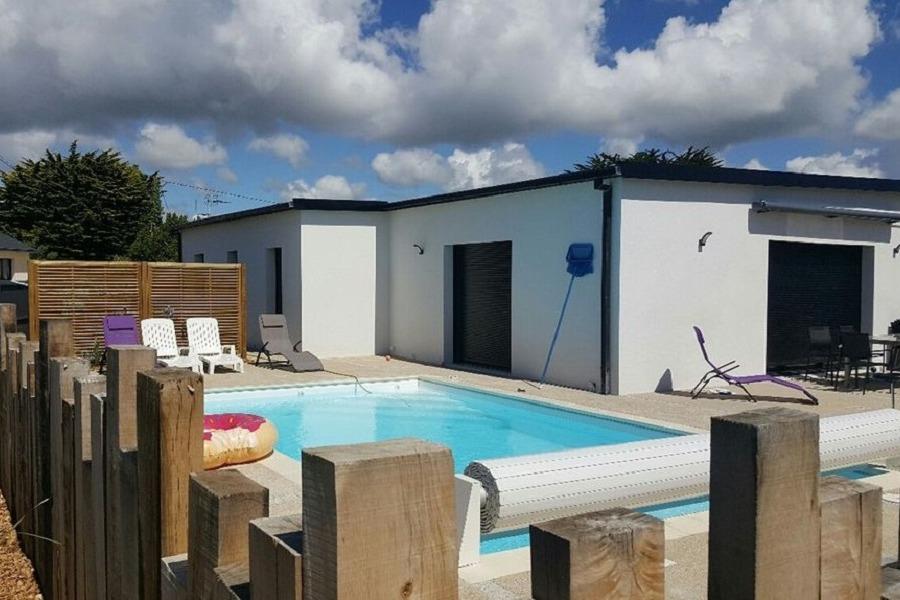 Maison id ale pour grande famille avec piscine et jardin clos 600 m de la plage des sables - Maison ideale ...