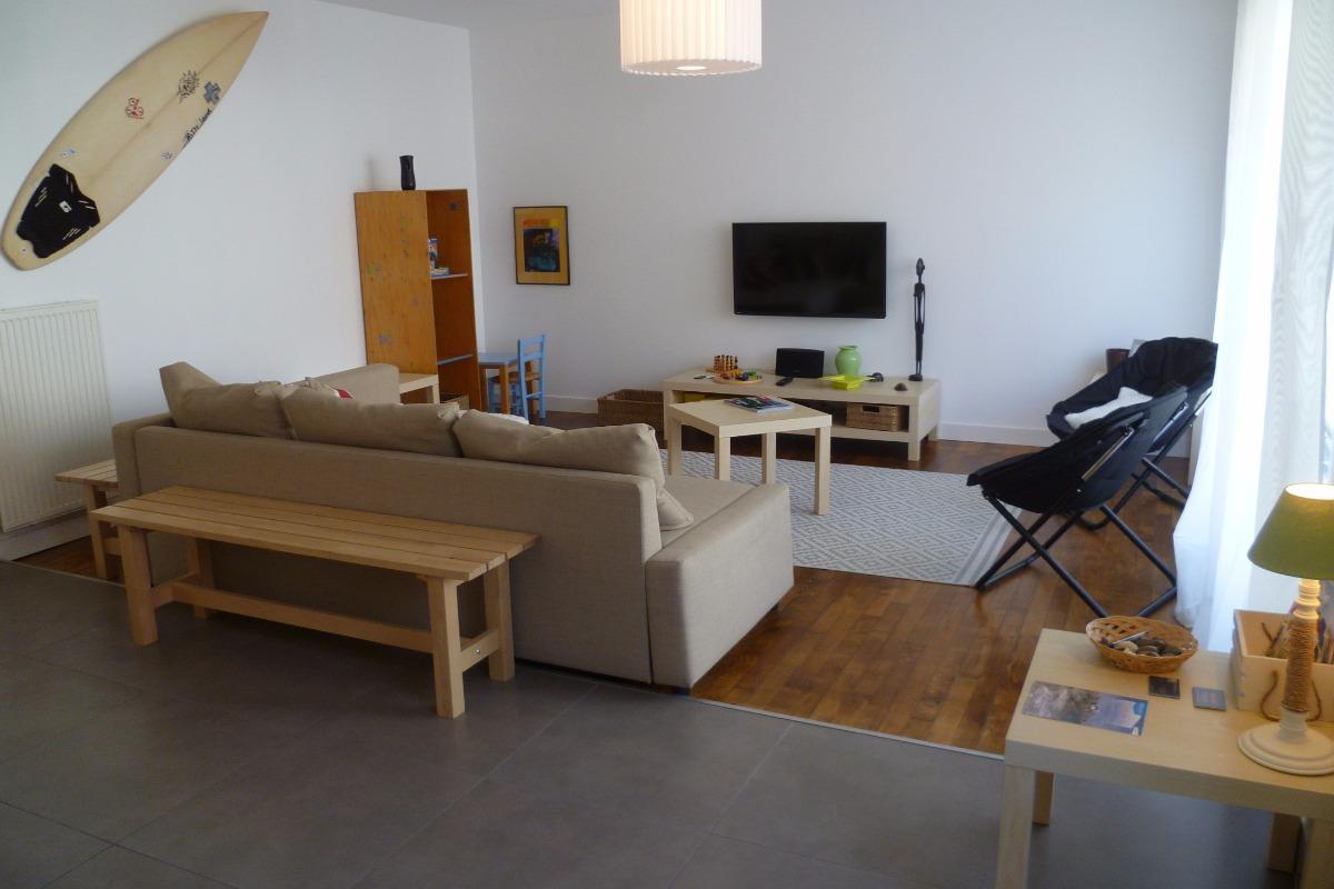 salon-séjour - Location de vacances - Pont-l'Abbé
