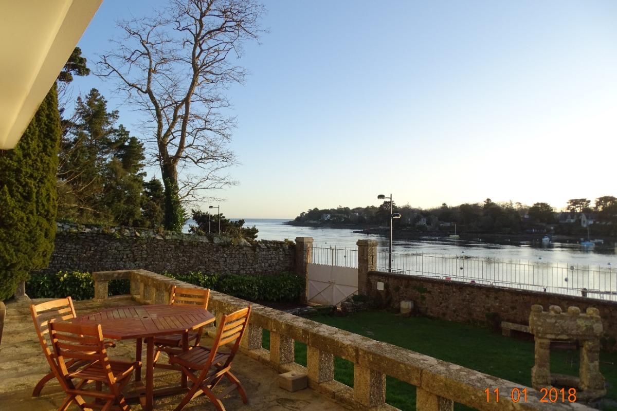 Terrasse avec vue sur mer - Location de vacances - Bénodet