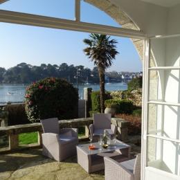 Terrasse avec vue mer - Location de vacances - Bénodet
