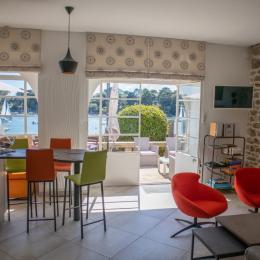 chambre avec lit 160 - Location de vacances - Bénodet