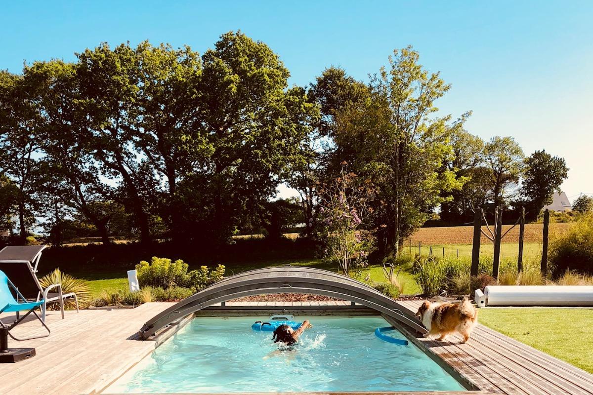 baignade assurée - Location de vacances - Bannalec
