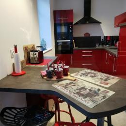 chambre étage 1 - 2 lits 90 x 200 - Location de vacances - Santec