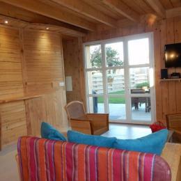 salon séjour - Location de vacances - Goulven