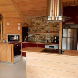 coin cuisine toute équipée - Location de vacances - Goulven
