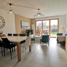 chambre avec lit 160 au RDC - Location de vacances - Roscoff