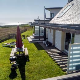 jacuzzi - espace bien-être - la maison des gardiens de l'océan Plougonvelin  - Location de vacances - Plougonvelin