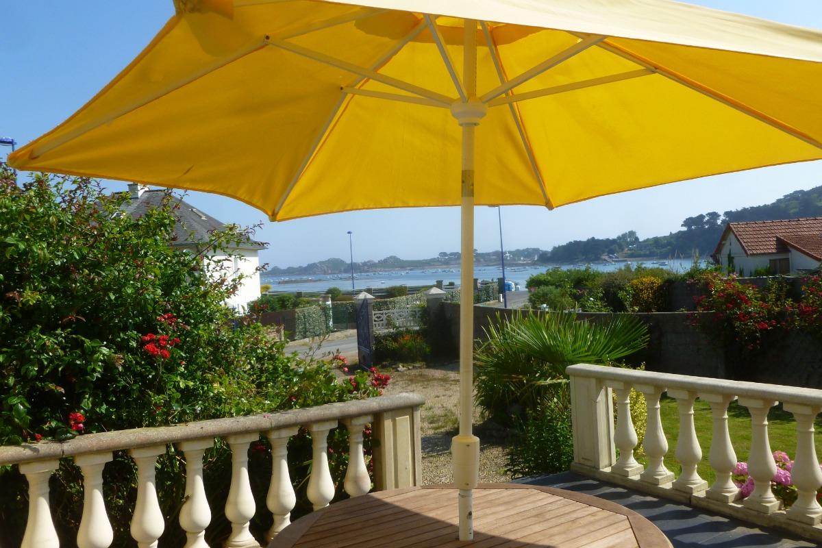 location sur jardin et parking privatifs clos - Location de vacances - Plougasnou