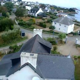 terrasse vue du salon - Location de vacances - Plougasnou