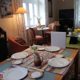 cuisine et salon - Location de vacances - Roscoff