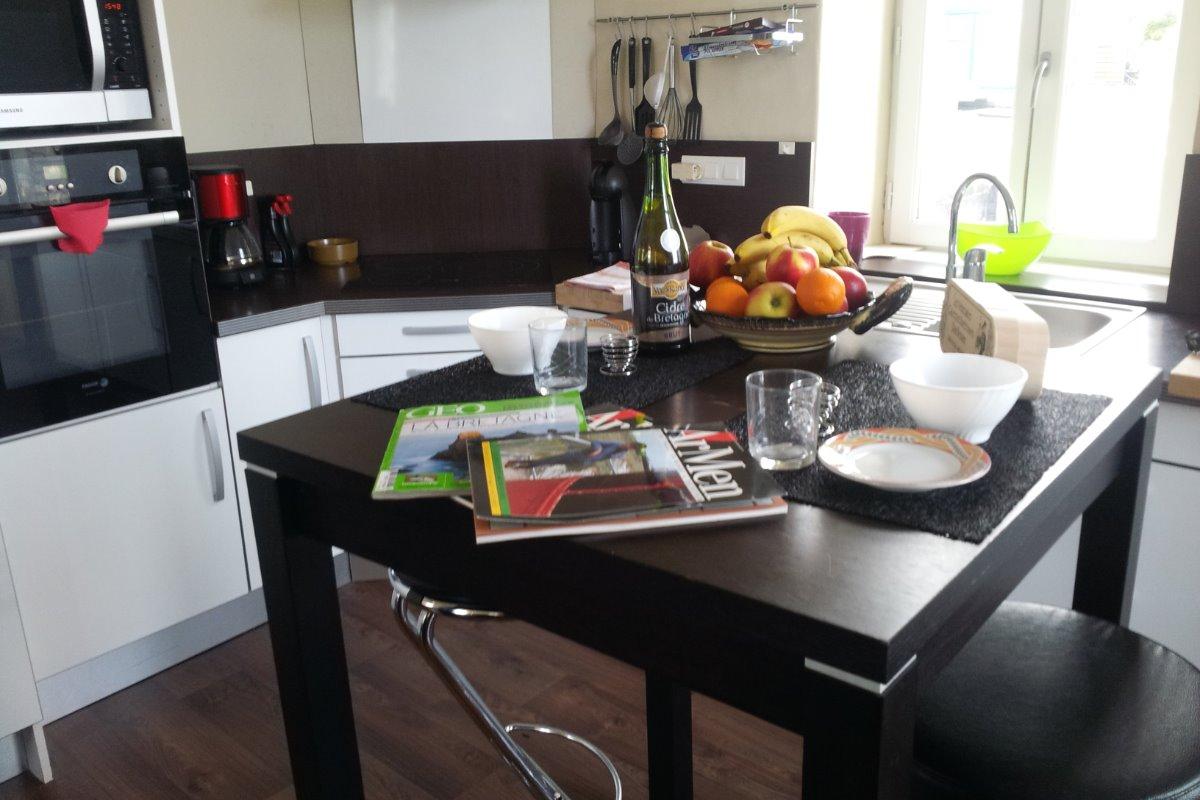 cuisine - Location de vacances - Roscoff