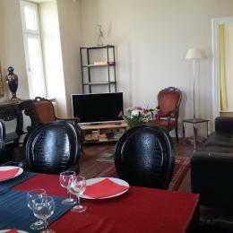 salle de séjour - Location de vacances - Roscoff