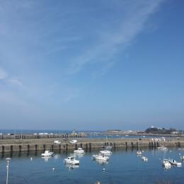 vue mer  de la maison - Location de vacances - Roscoff