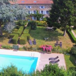 Manoir de kerroc'h avec piscine commune chauffée et jardin de 7000 M2 - Location de vacances - Moëlan-sur-Mer