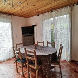 coin salon - Location de vacances - Saint-Jean-du-Doigt