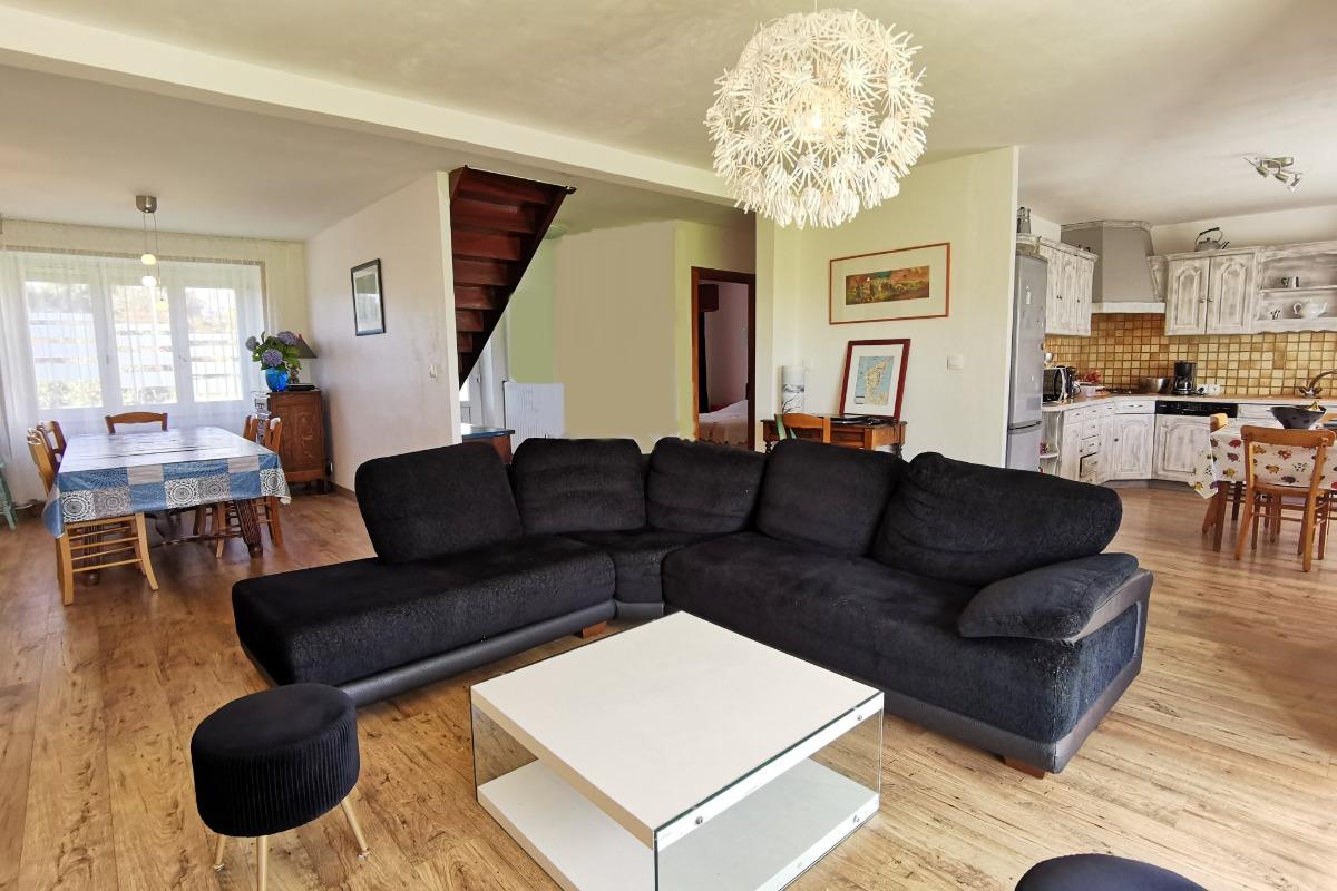salon-séjour - Location de vacances - Roscanvel