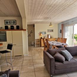 séjour salon - Location de vacances - Saint-Nic