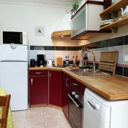 chambre avec lit 160 - Location de vacances - Landéda