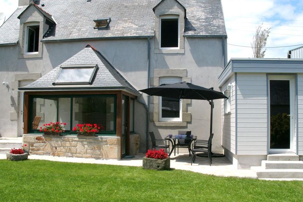 Maison avec véranda et jardin clos - Location de vacances - Saint-Jean-Trolimon