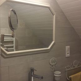 Salle d'eau-WC  - Chambre d'hôtes - Névez