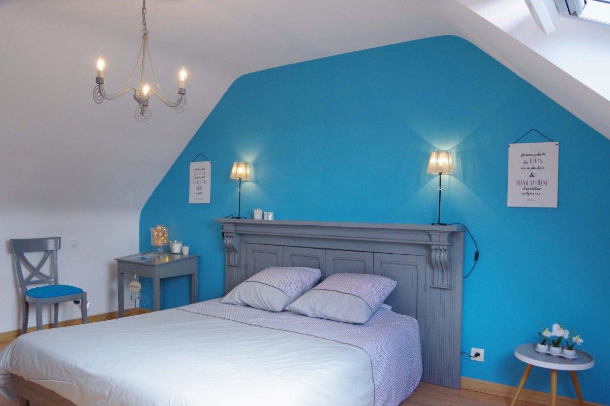 Grande pièce à vivre lumineuse et spacieuse, avec cuisine toute équipée et aménagée - Location de vacances - Plouguerneau