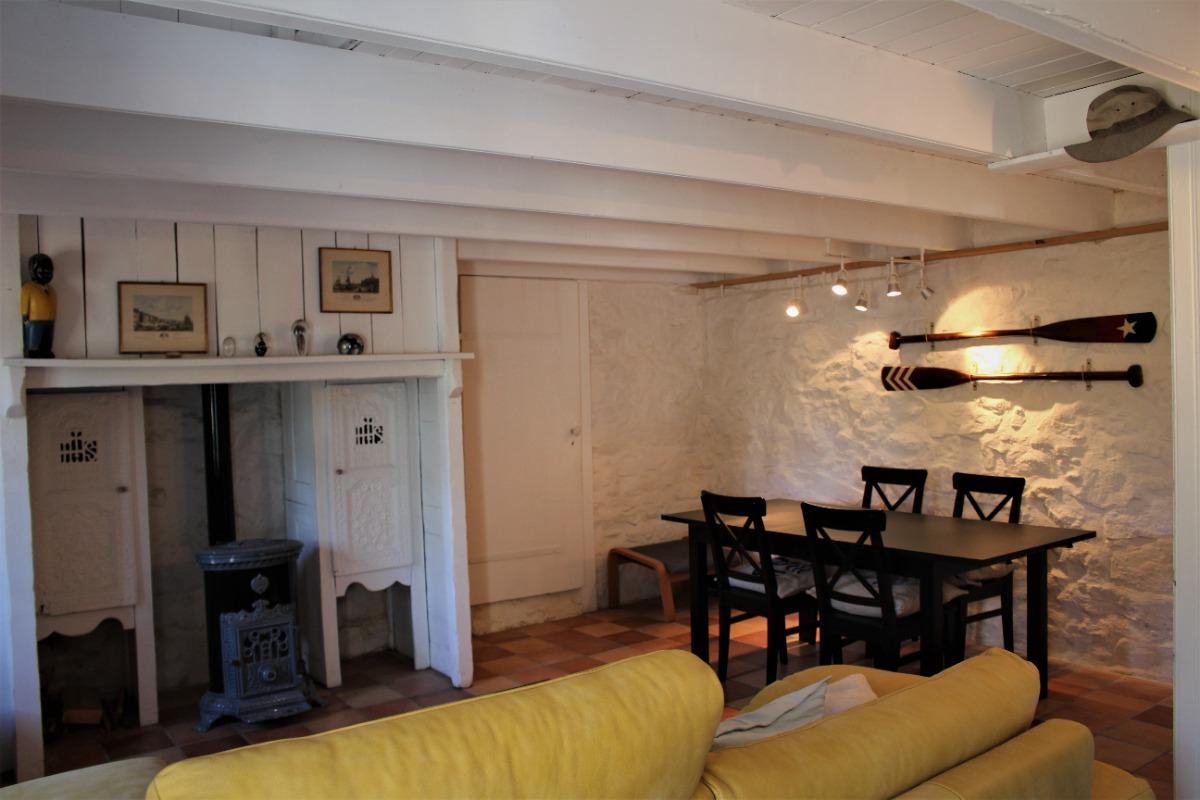 Pièce de vie spacieuse - Location de vacances - Cléden-Cap-Sizun
