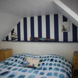 Possibilité 2 lits 90  - Location de vacances - Cléden-Cap-Sizun