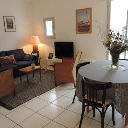 Appartement au 2ieme étage, salon-séjour cuisine lumineux et spacieux - Location de vacances - Bénodet