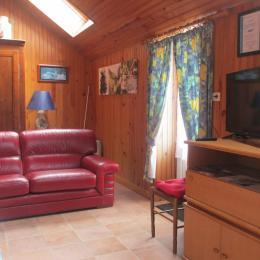salon indépendant  - Location de vacances - Landunvez