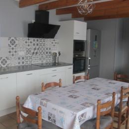 cuisine aménagée - Location de vacances - Landunvez