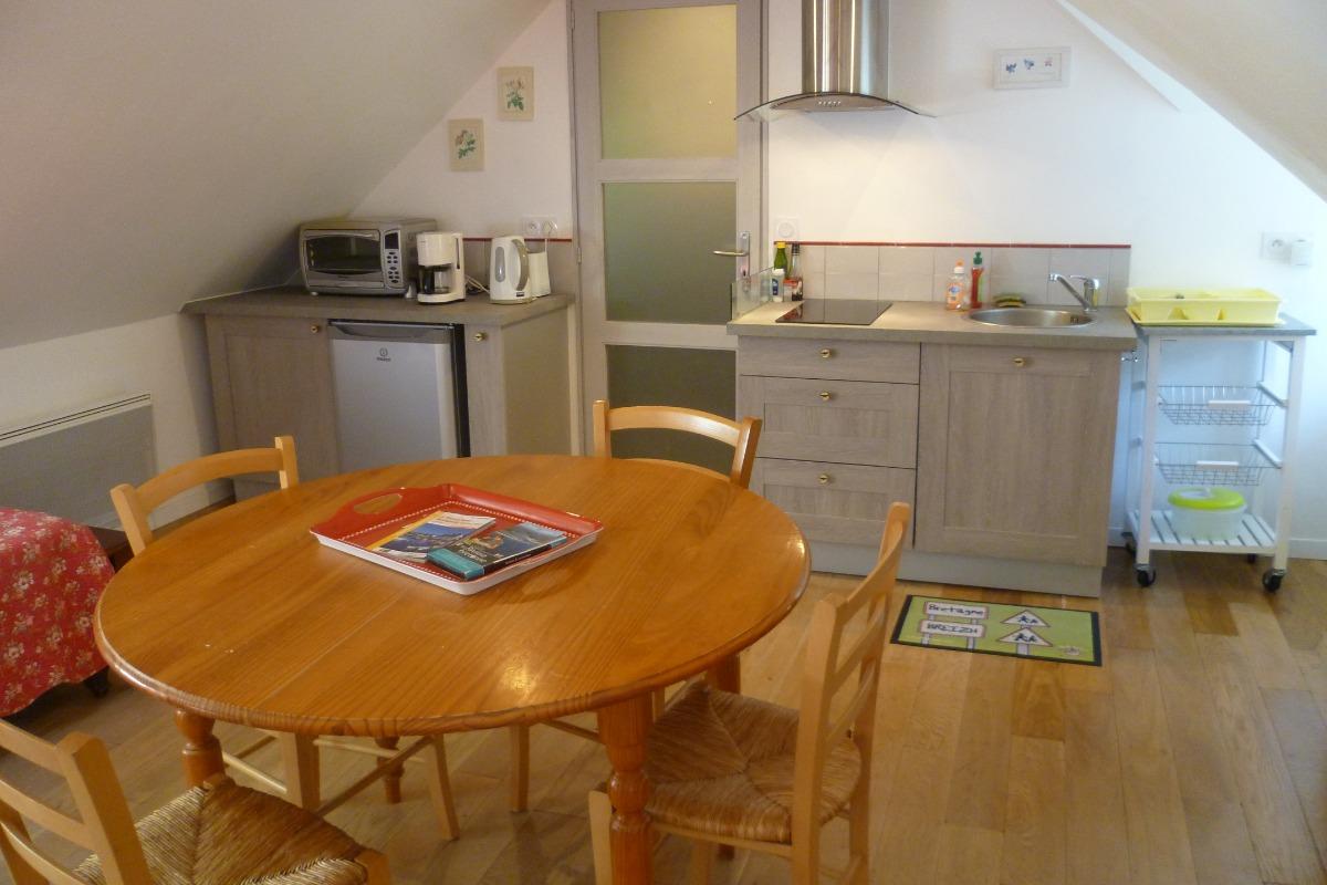 coin cuisine - Location de vacances - Melgven