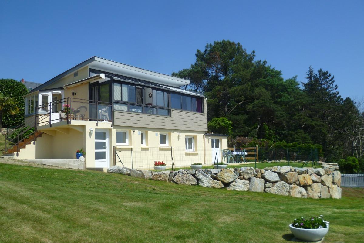 appartement en rez de jardin d'une maison - Location de vacances - Roscanvel