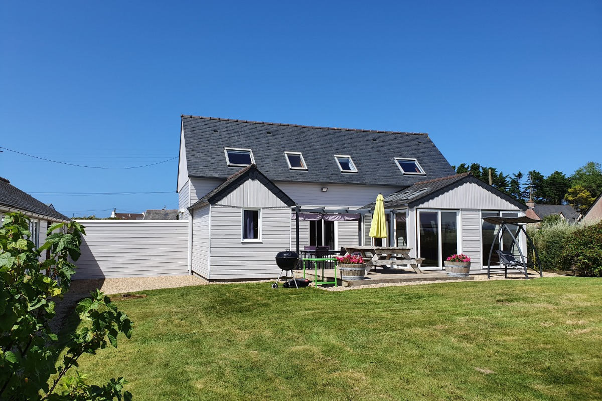 Maison côté jardin - Location de vacances - Cléder